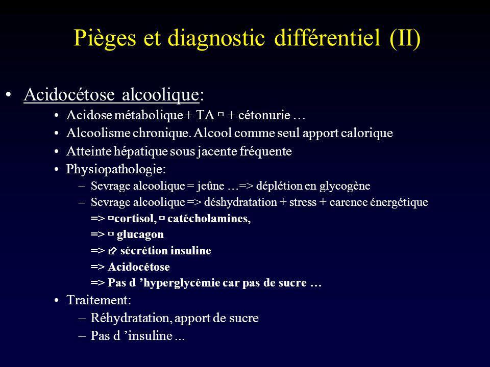 Pièges et diagnostic différentiel (II)