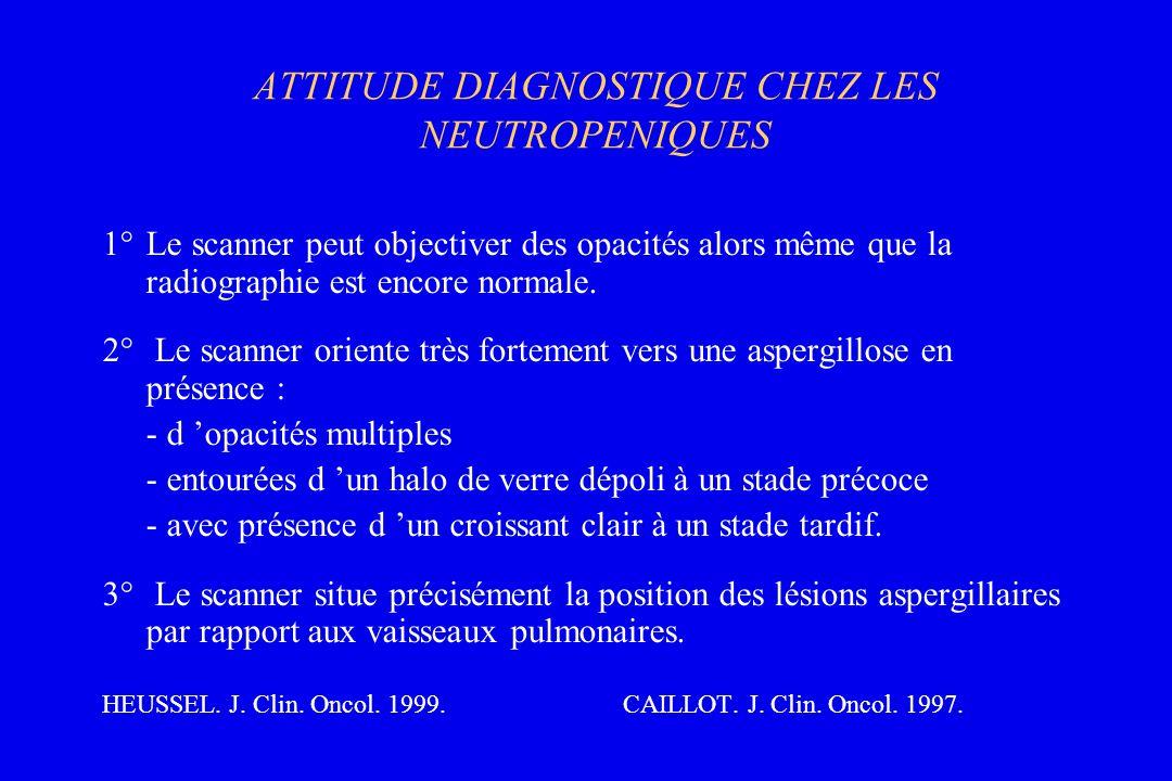ATTITUDE DIAGNOSTIQUE CHEZ LES NEUTROPENIQUES
