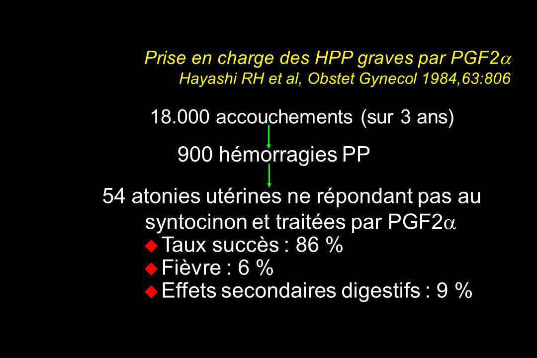 18.000 accouchements (sur 3 ans)