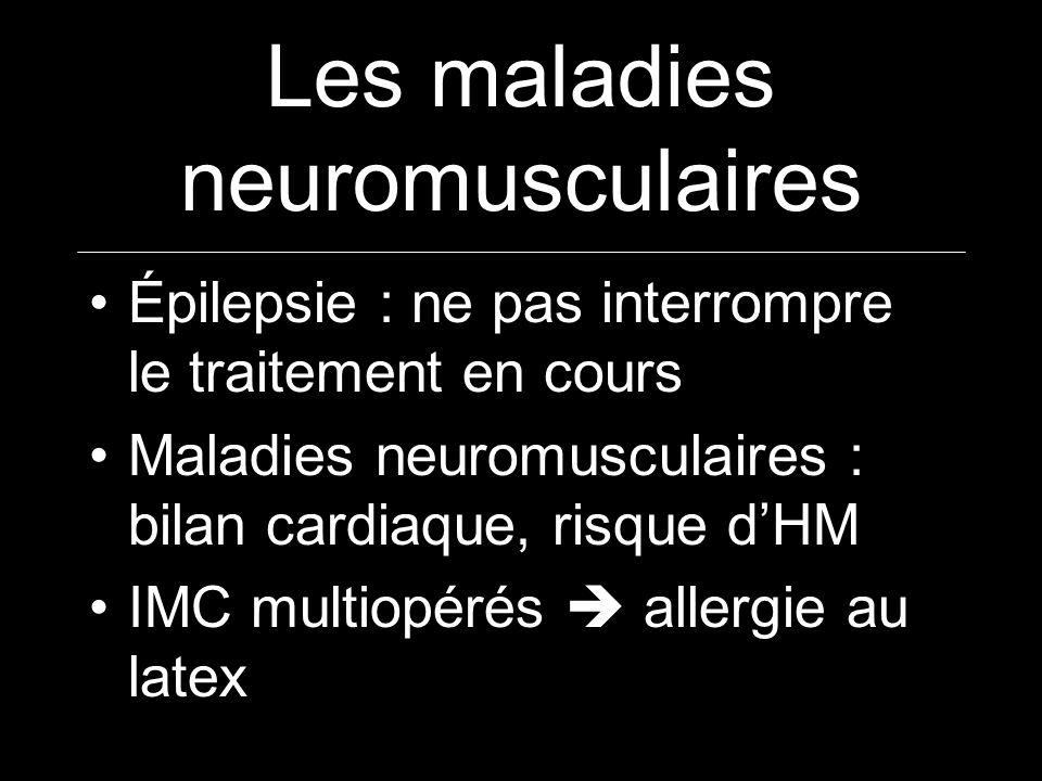 Les maladies neuromusculaires