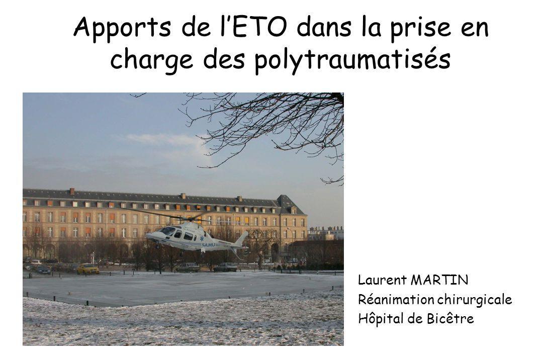 Apports de l'ETO dans la prise en charge des polytraumatisés