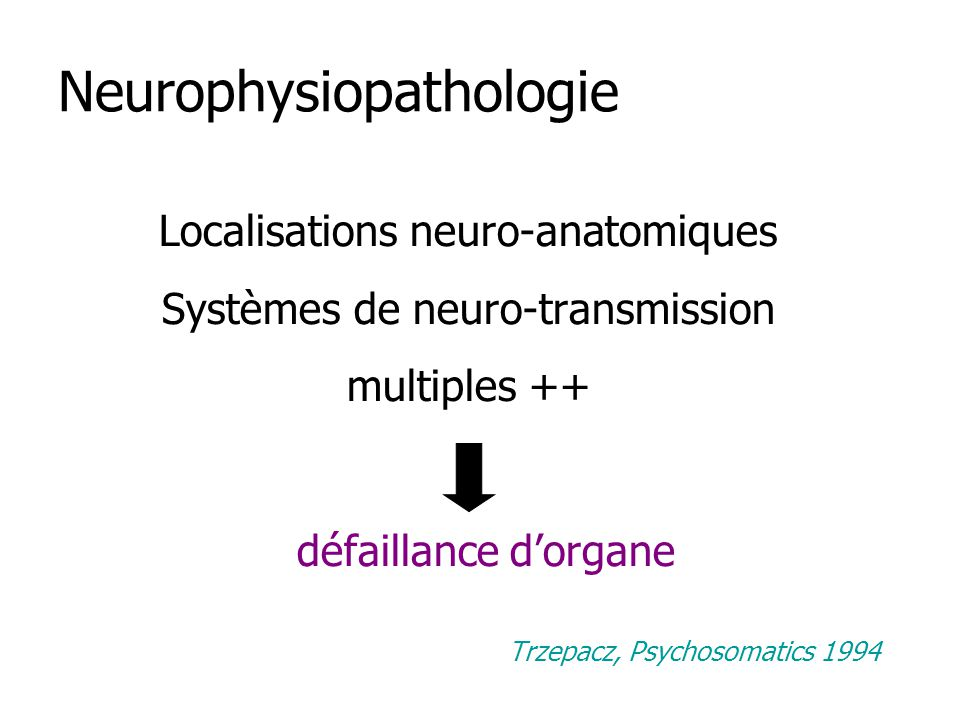 Neurophysiopathologie