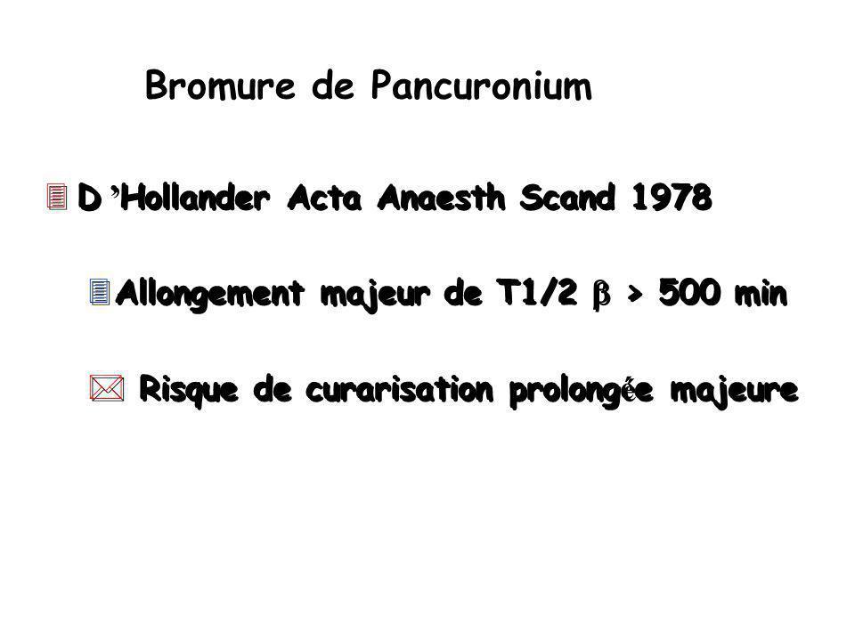 Bromure de Pancuronium