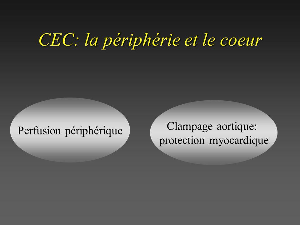 CEC: la périphérie et le coeur