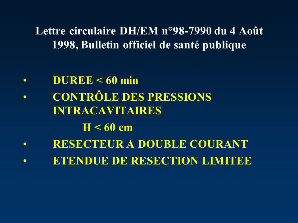 Lettre circulaire DH/EM n°98-7990 du 4 Août 1998, Bulletin officiel de santé publique