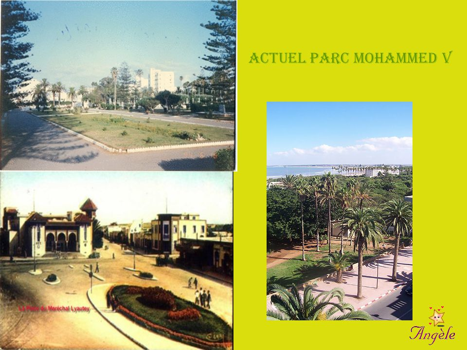 Actuel Parc Mohammed V Ex Parc Lyautey