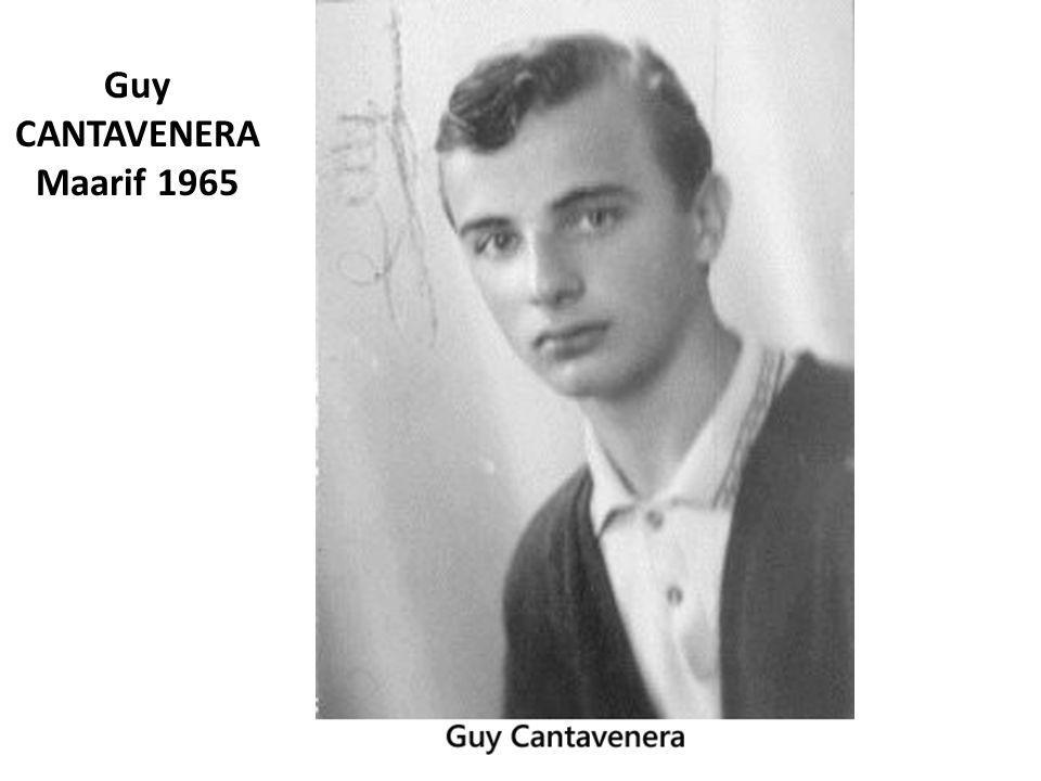 Guy CANTAVENERA Maarif 1965