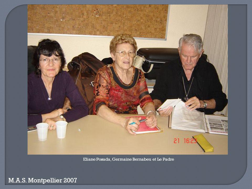 Eliane Posada, Germaine Bernabeu et Le Padre