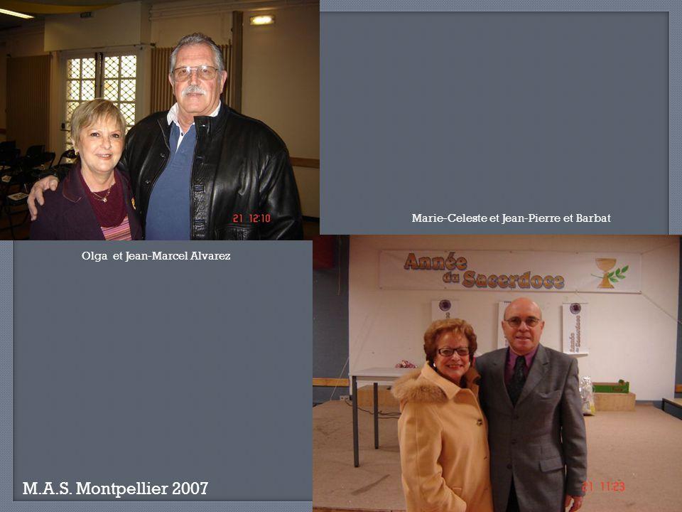 M.A.S. Montpellier 2007 Marie-Celeste et Jean-Pierre et Barbat