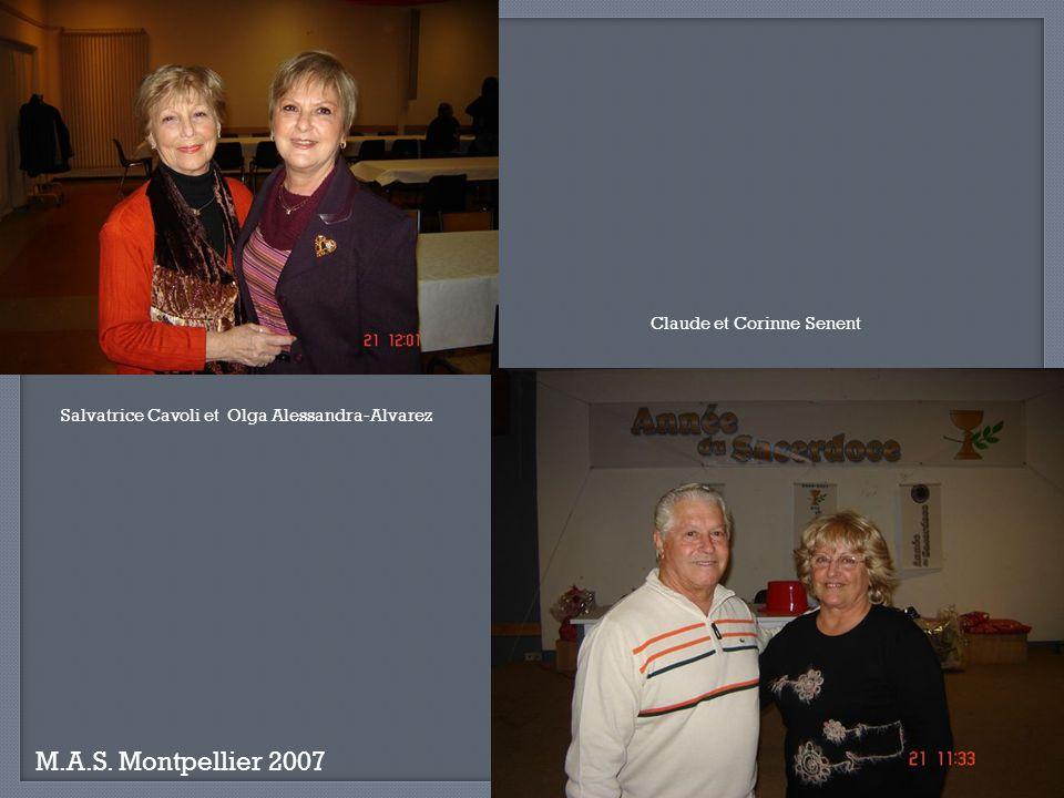 M.A.S. Montpellier 2007 Claude et Corinne Senent