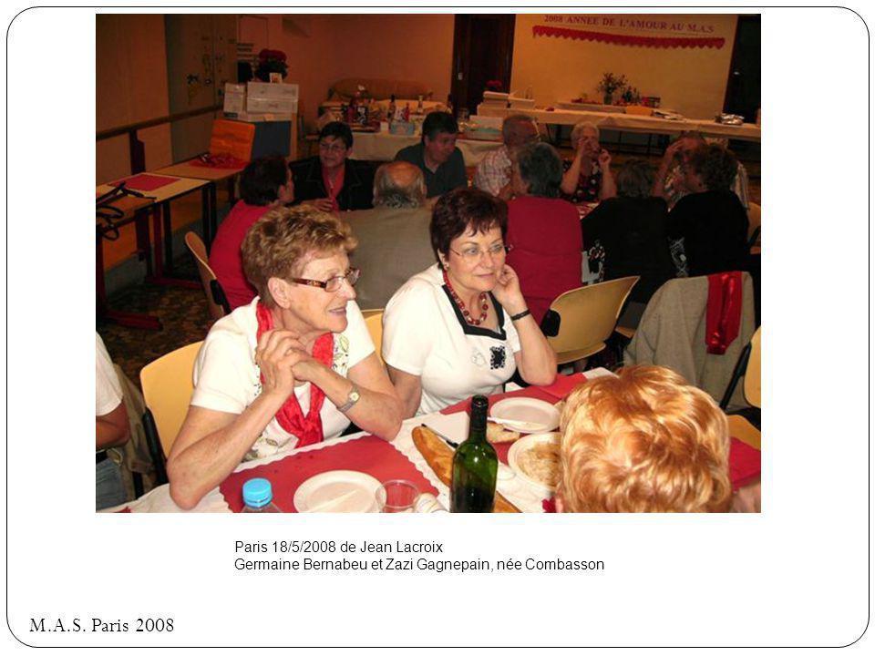 M.A.S. Paris 2008 Paris 18/5/2008 de Jean Lacroix