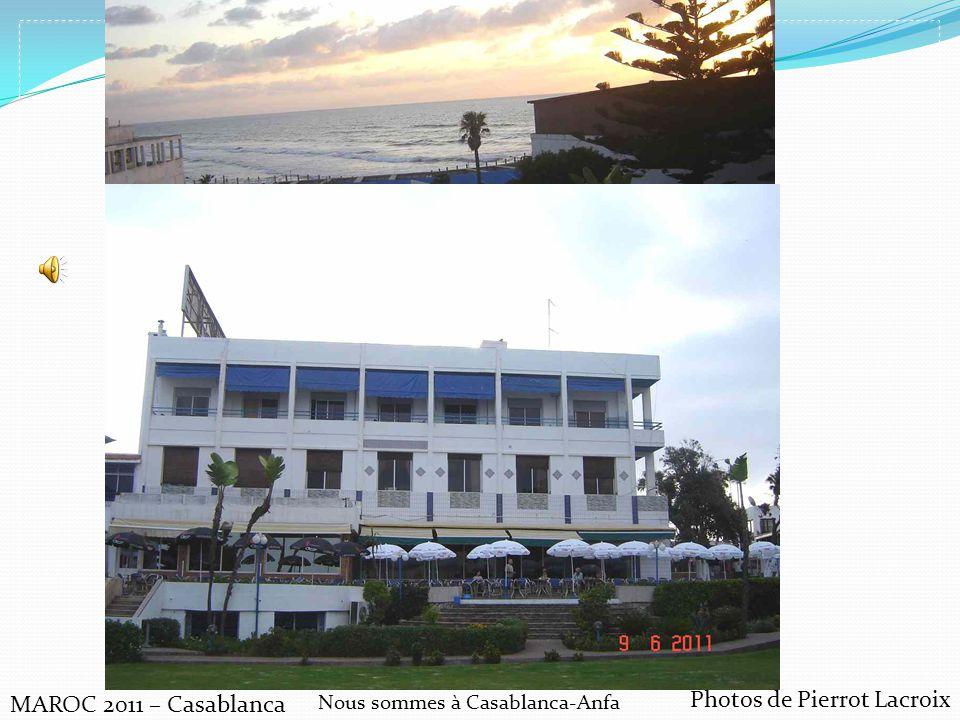 Nous sommes à Casablanca-Anfa