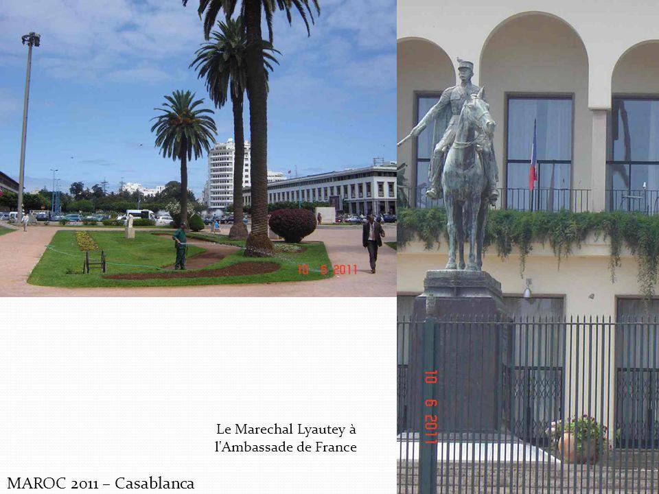 Le Marechal Lyautey à l Ambassade de France