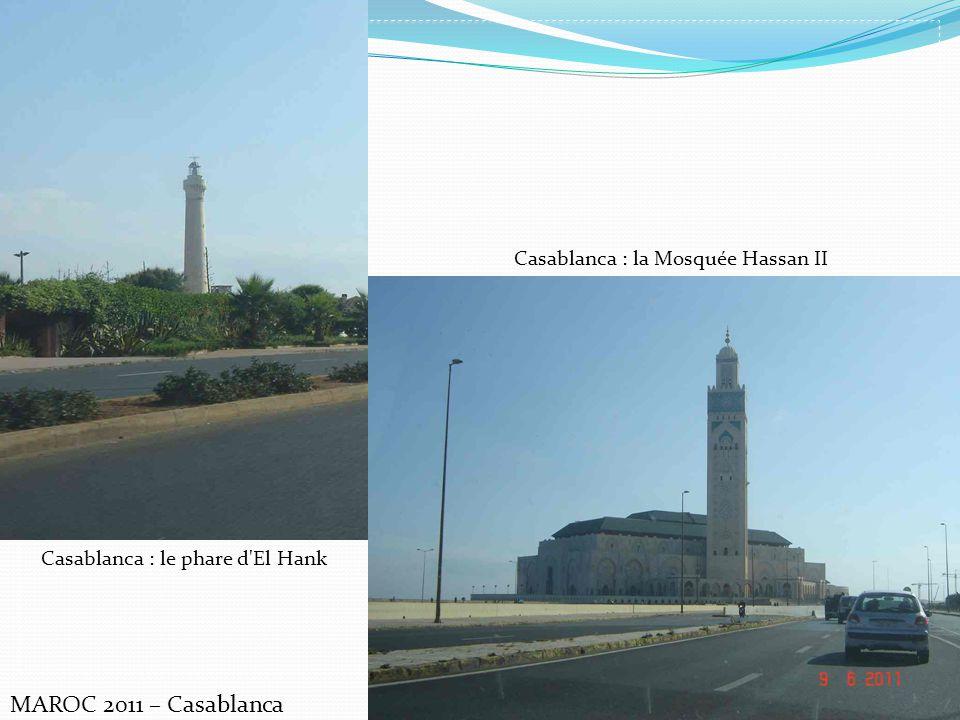 MAROC 2011 – Casablanca Casablanca : la Mosquée Hassan II