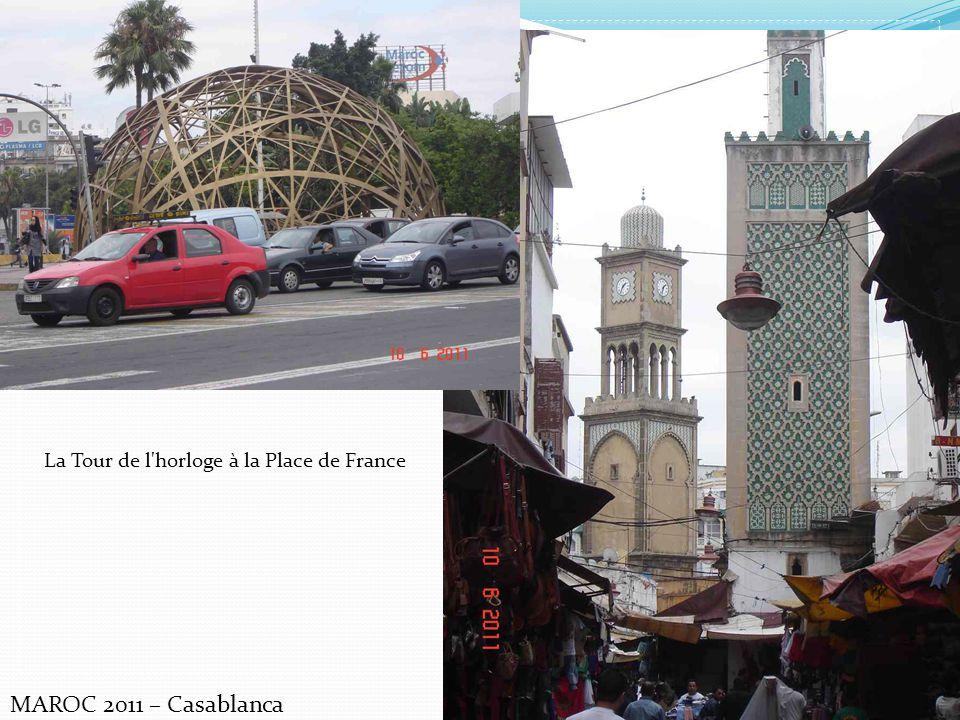 La Tour de l horloge à la Place de France