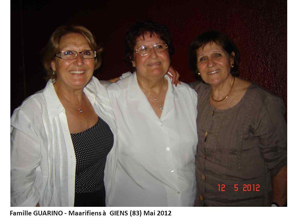 Famille GUARINO - Maarifiens à GIENS (83) Mai 2012