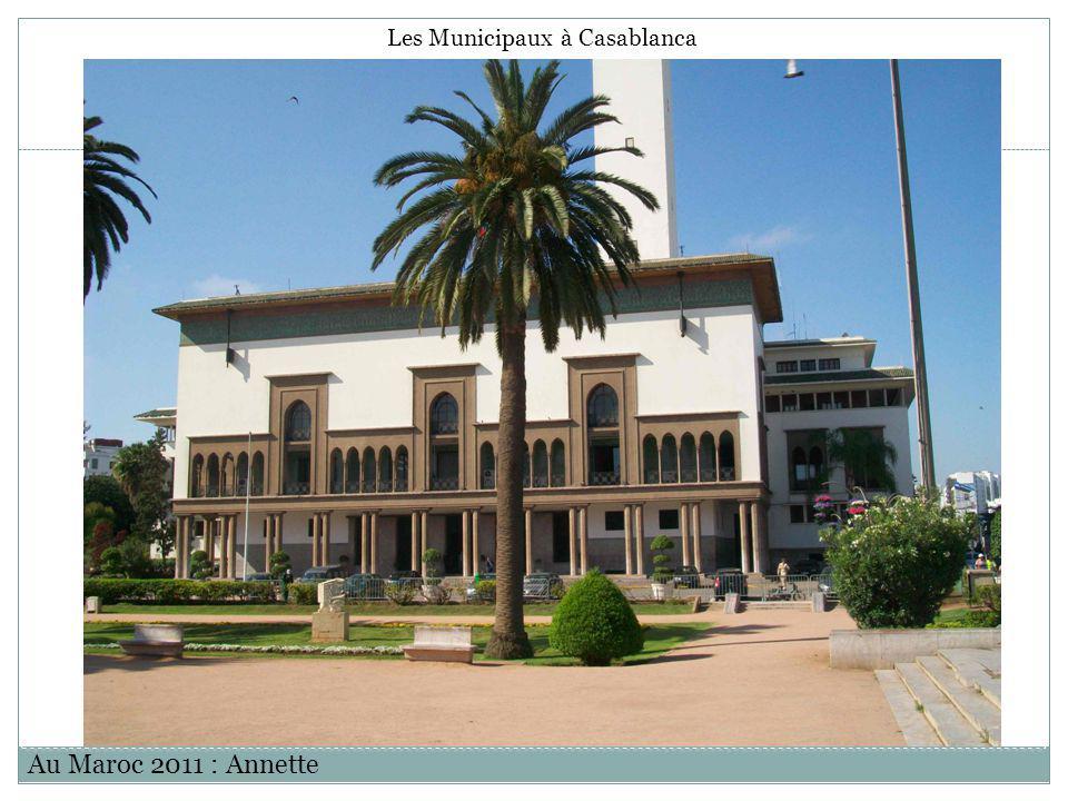 Les Municipaux à Casablanca