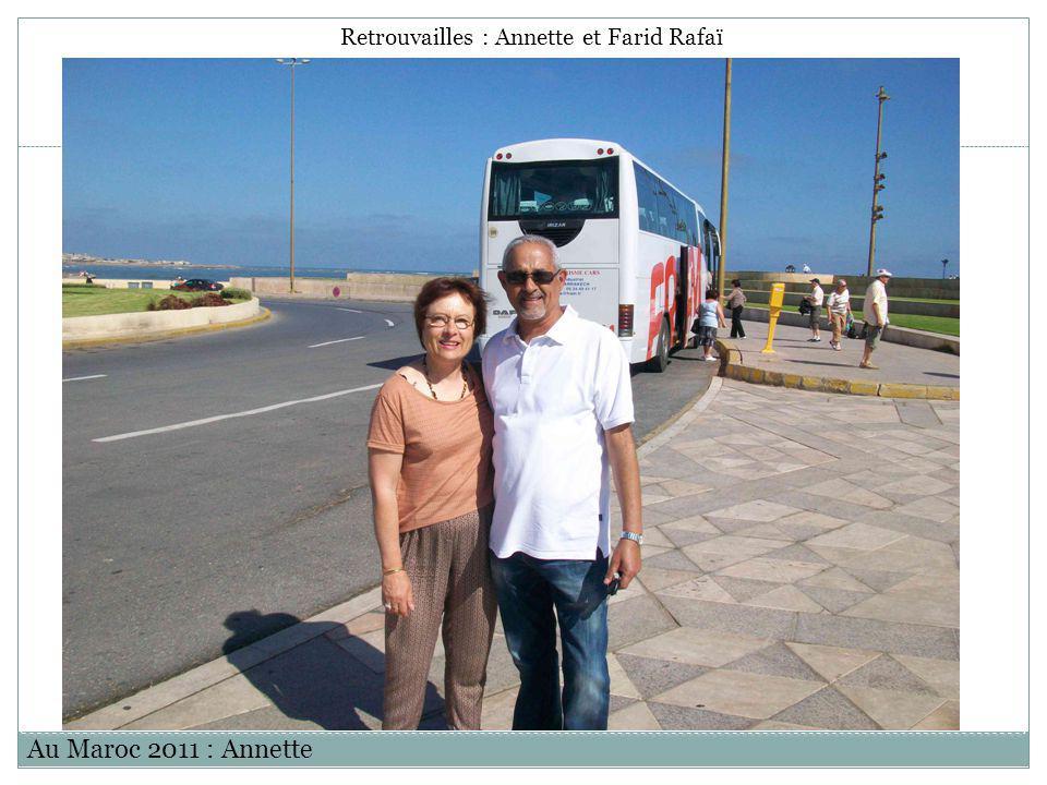 Retrouvailles : Annette et Farid Rafaï