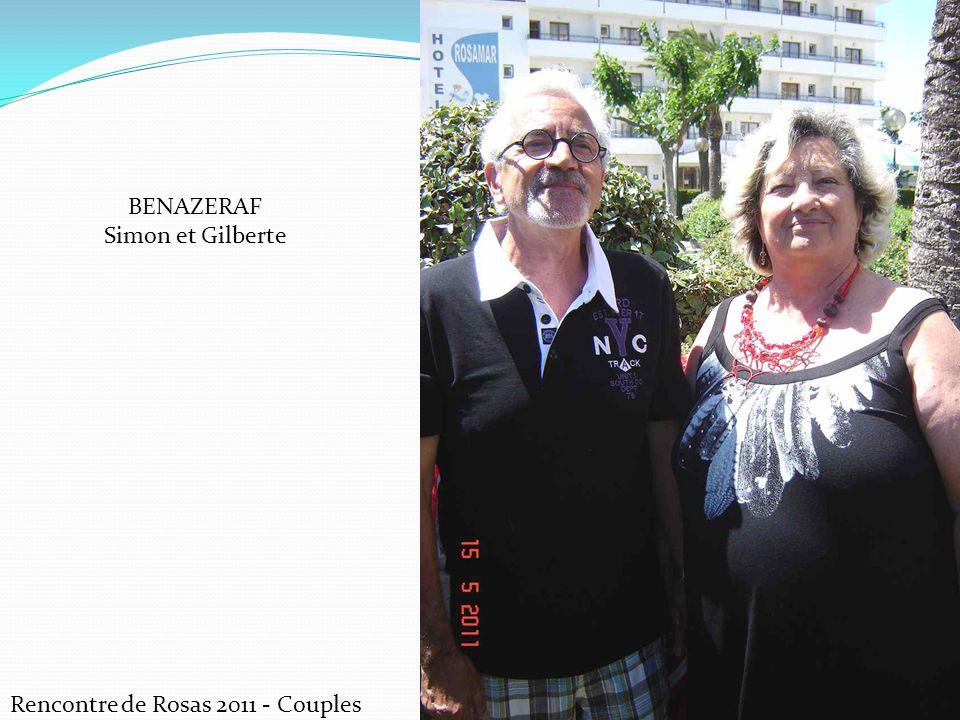 BENAZERAF Simon et Gilberte Rencontre de Rosas 2011 - Couples