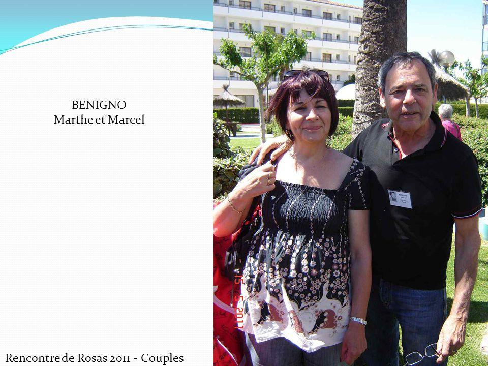 BENIGNO Marthe et Marcel Rencontre de Rosas 2011 - Couples