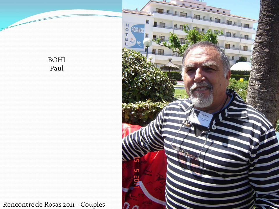BOHI Paul Rencontre de Rosas 2011 - Couples