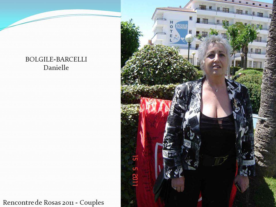 BOLGILE-BARCELLI Danielle Rencontre de Rosas 2011 - Couples