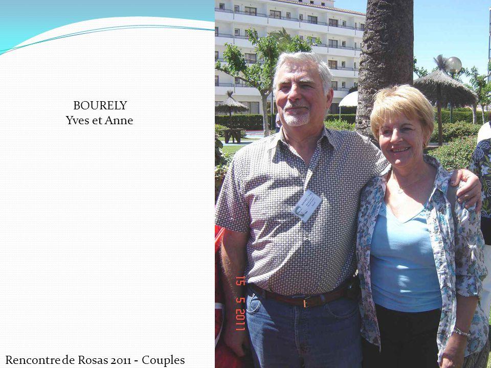 BOURELY Yves et Anne Rencontre de Rosas 2011 - Couples