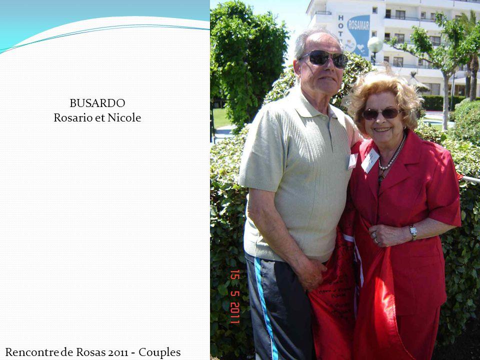 BUSARDO Rosario et Nicole Rencontre de Rosas 2011 - Couples