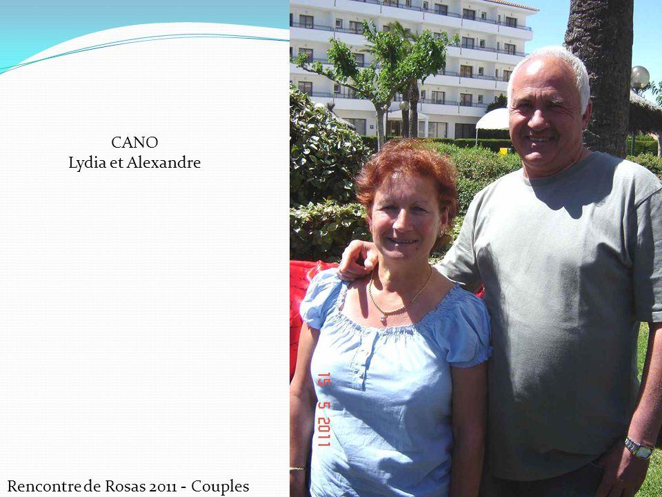 CANO Lydia et Alexandre Rencontre de Rosas 2011 - Couples