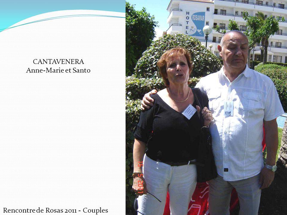 CANTAVENERA Anne-Marie et Santo Rencontre de Rosas 2011 - Couples
