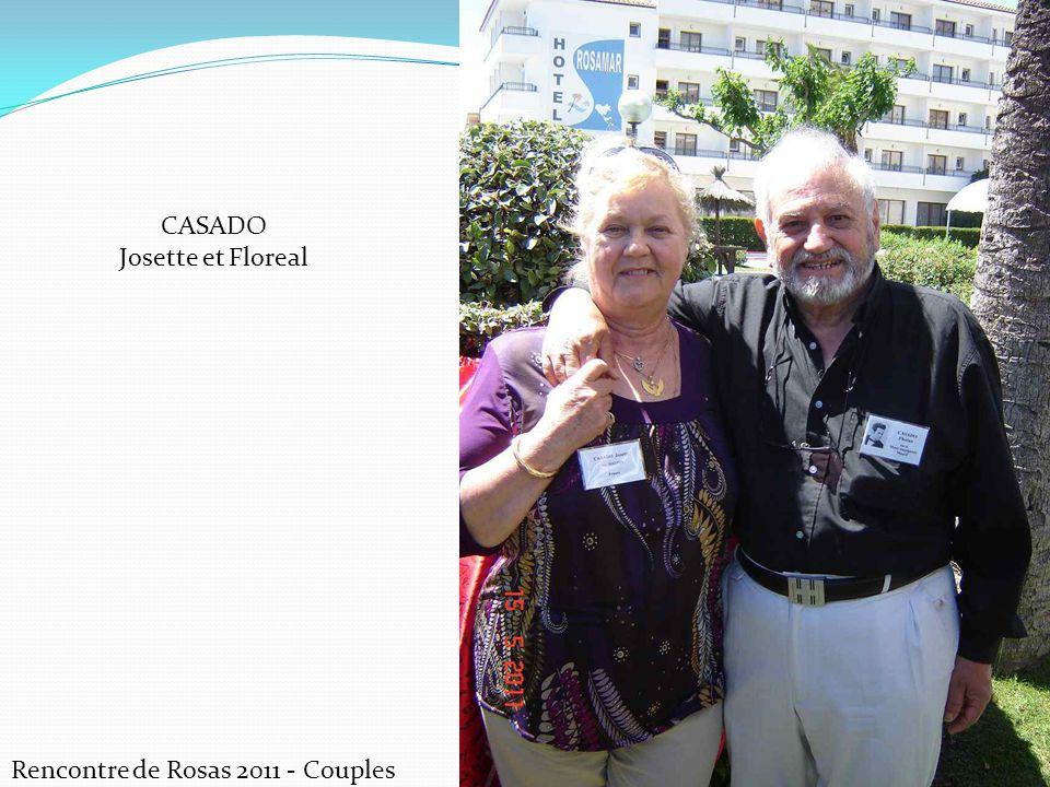 CASADO Josette et Floreal Rencontre de Rosas 2011 - Couples