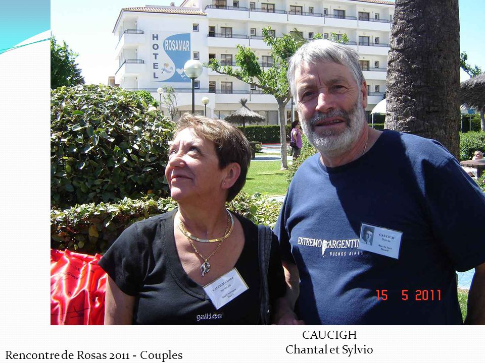 CAUCIGH Chantal et Sylvio Rencontre de Rosas 2011 - Couples