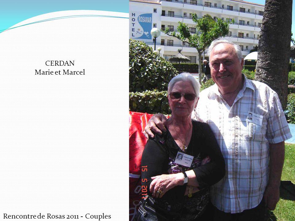 CERDAN Marie et Marcel Rencontre de Rosas 2011 - Couples