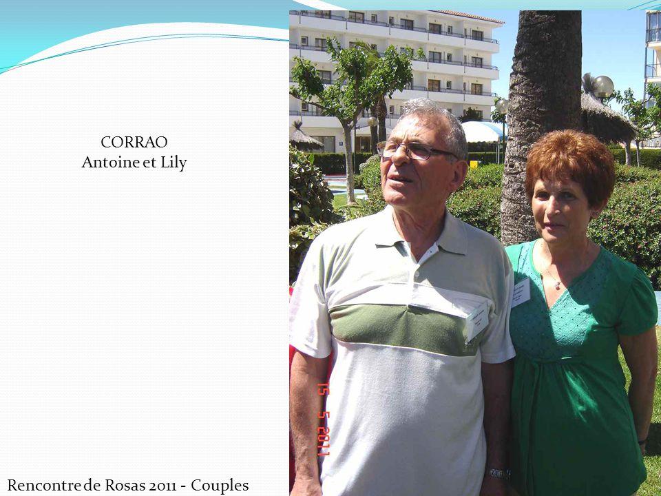 CORRAO Antoine et Lily Rencontre de Rosas 2011 - Couples
