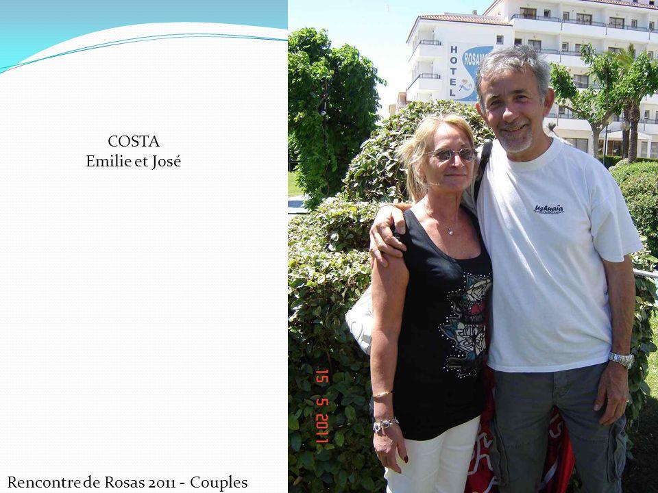 COSTA Emilie et José Rencontre de Rosas 2011 - Couples