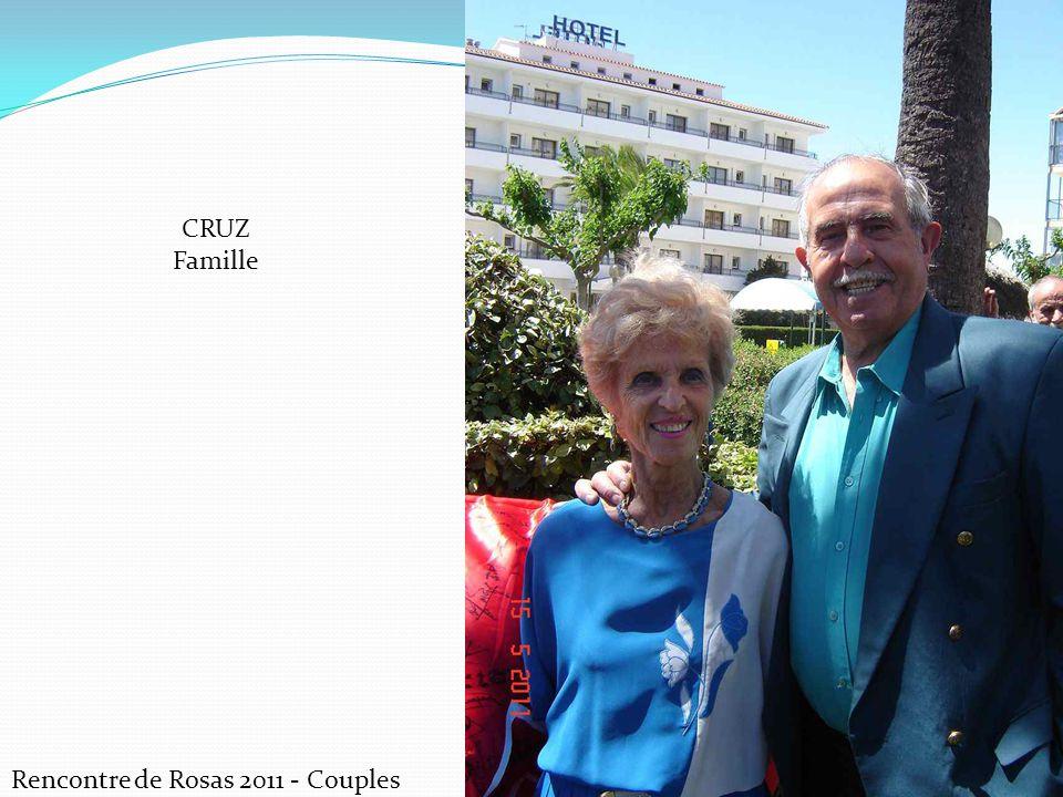 CRUZ Famille Rencontre de Rosas 2011 - Couples