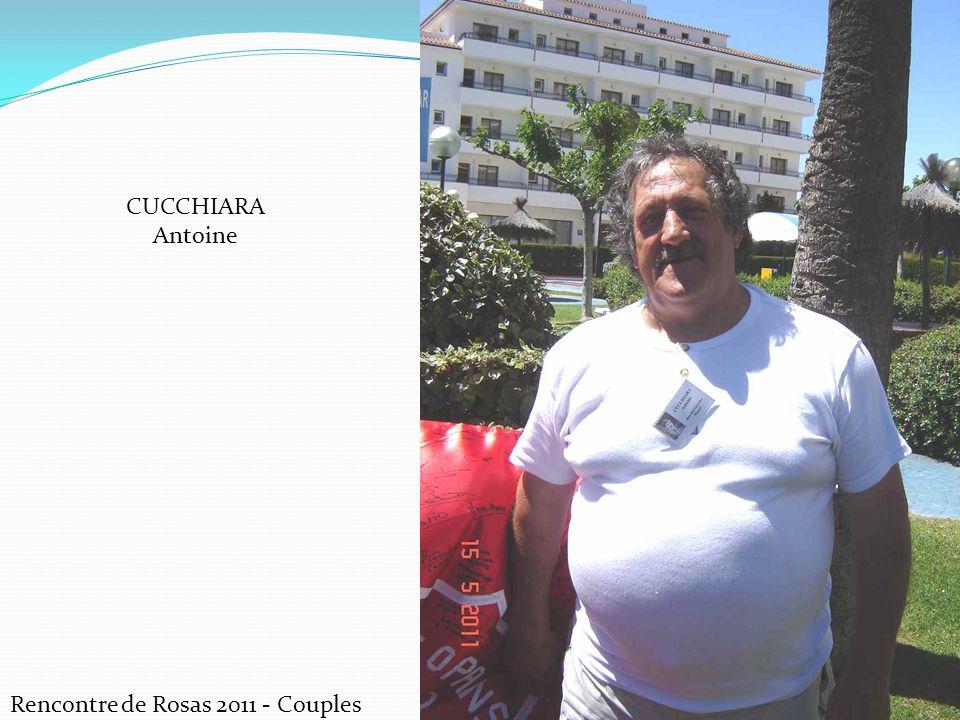 CUCCHIARA Antoine Rencontre de Rosas 2011 - Couples