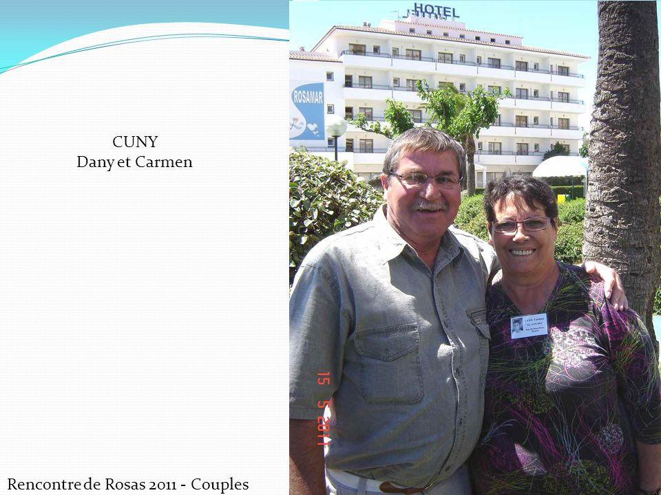 CUNY Dany et Carmen Rencontre de Rosas 2011 - Couples
