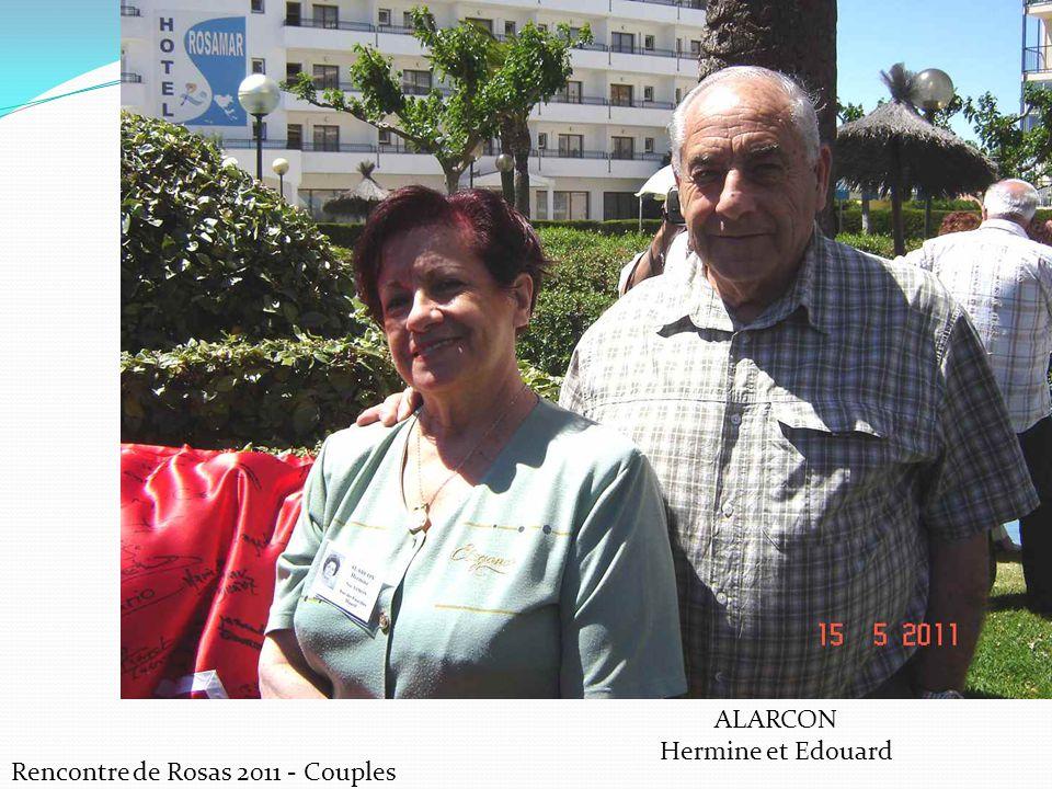 ALARCON Hermine et Edouard Rencontre de Rosas 2011 - Couples