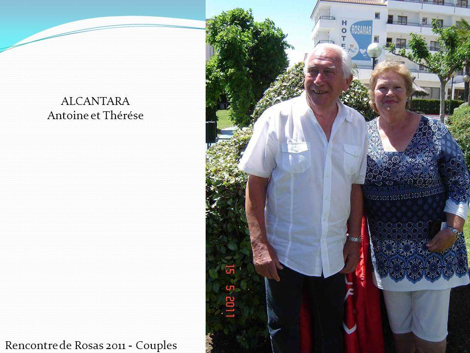 ALCANTARA Antoine et Thérése Rencontre de Rosas 2011 - Couples