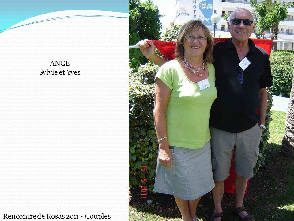 ANGE Sylvie et Yves Rencontre de Rosas 2011 - Couples