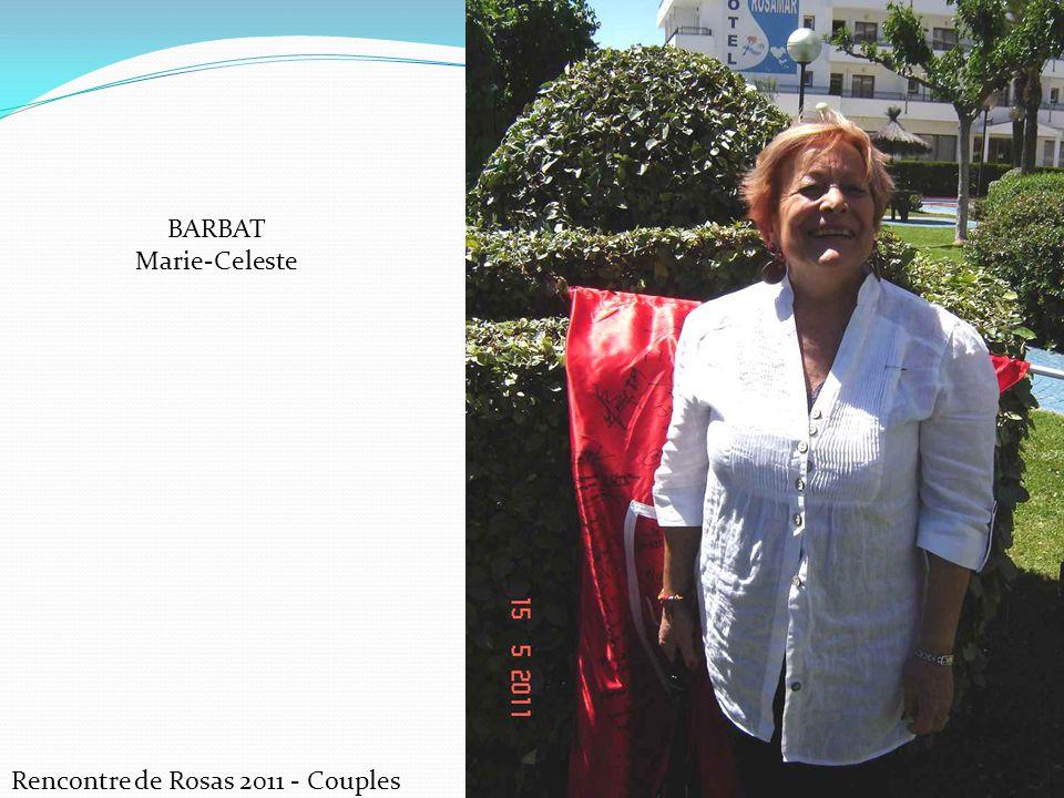 BARBAT Marie-Celeste Rencontre de Rosas 2011 - Couples