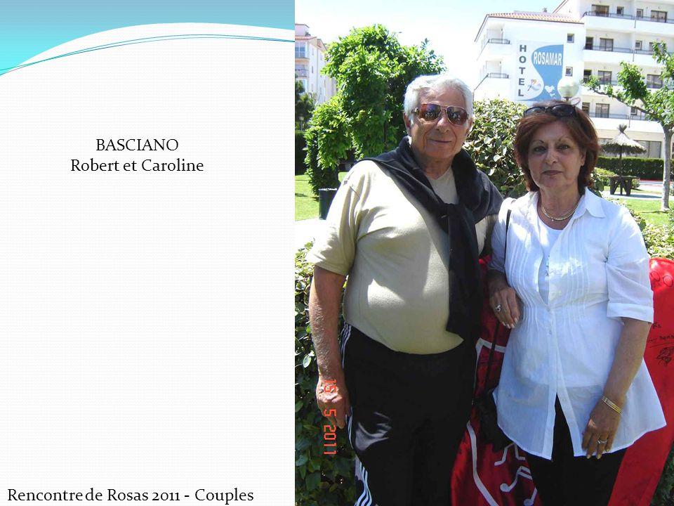 BASCIANO Robert et Caroline Rencontre de Rosas 2011 - Couples