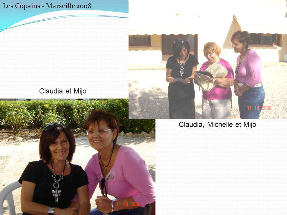 Claudia, Michelle et Mijo