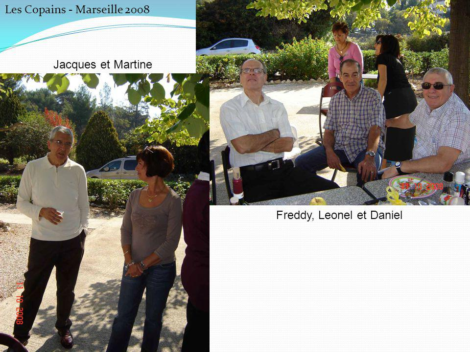 Freddy, Leonel et Daniel