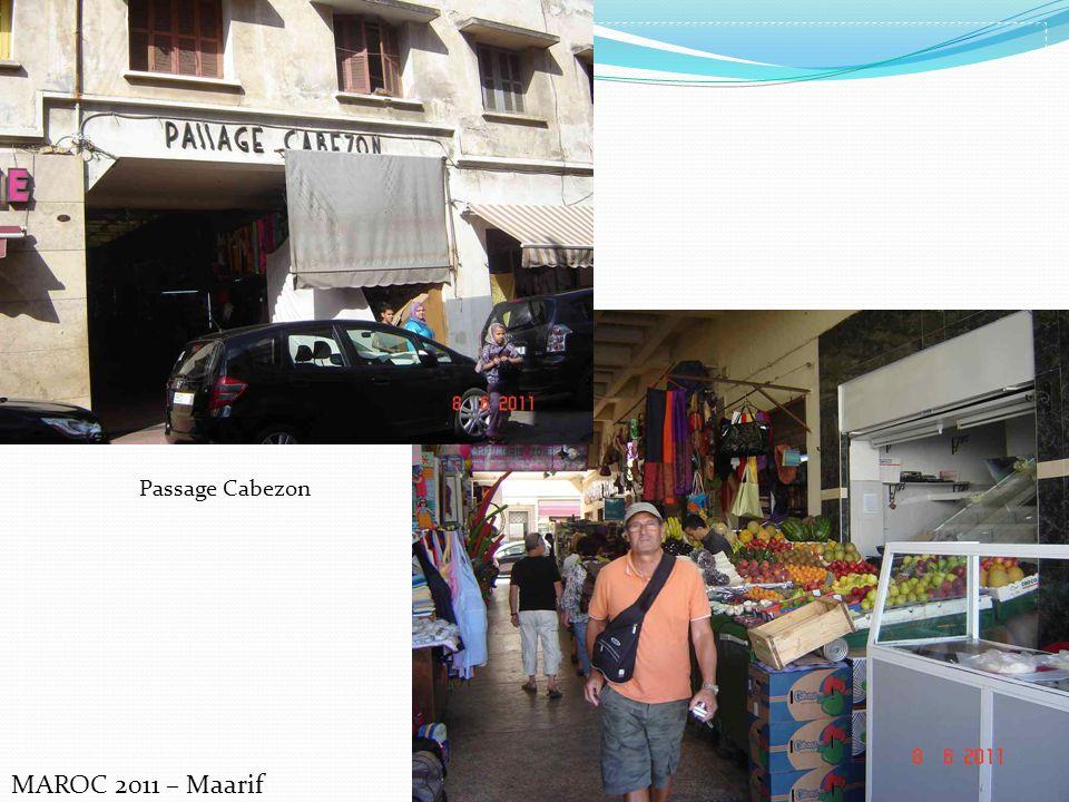 Passage Cabezon MAROC 2011 – Maarif