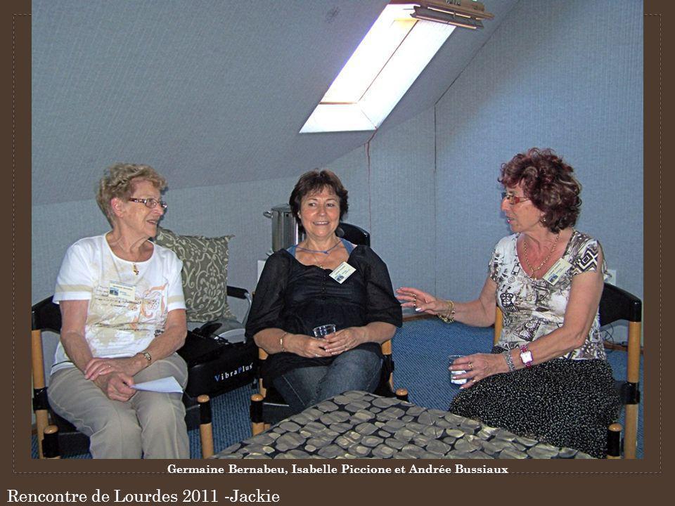 Germaine Bernabeu, Isabelle Piccione et Andrée Bussiaux