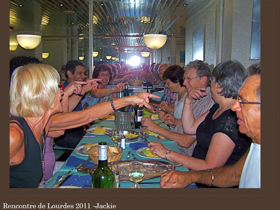 Rencontre de Lourdes 2011 -Jackie