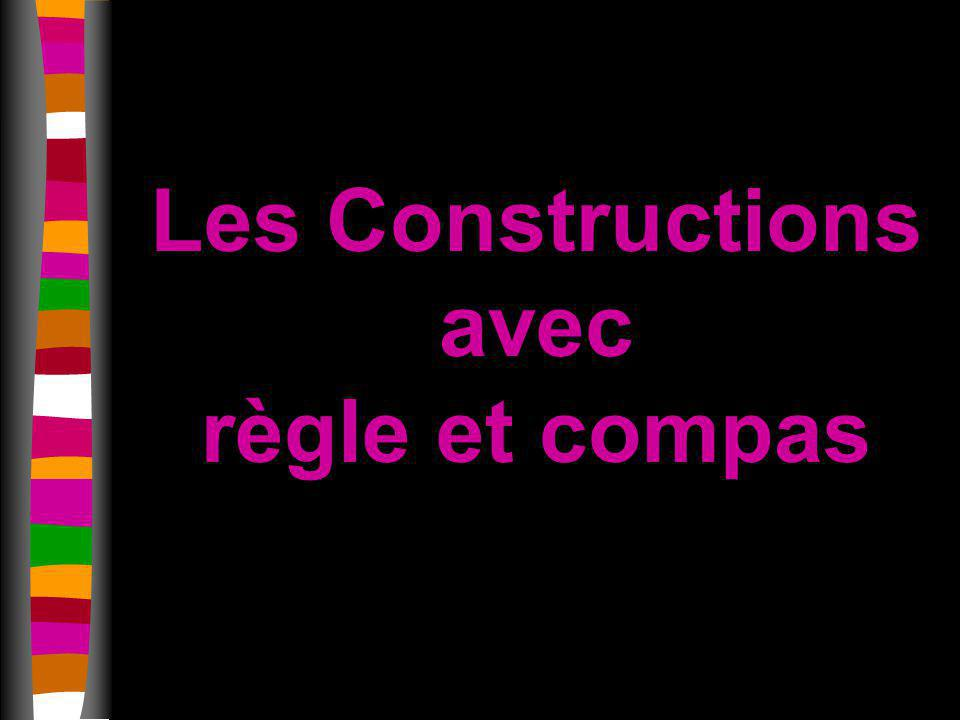 Les Constructions avec