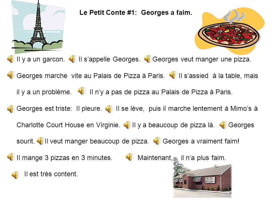 Le Petit Conte #1: Georges a faim.